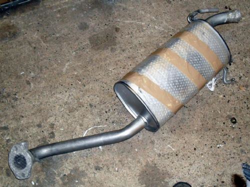 Exhaust, Mazda Bongo, #4, rear silencer section